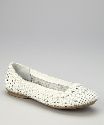 White Leather Hombrew Flat