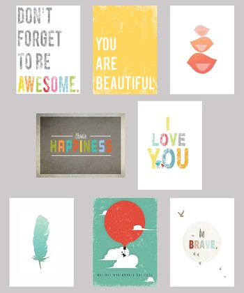 Be Inspired Mini Collection Print Set