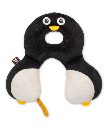 Black & White Penguin Travel Pillow