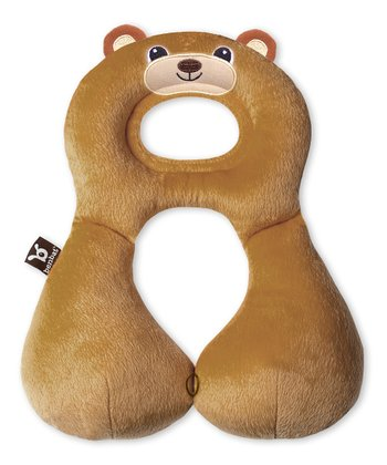 Brown Bear Travel Pillow