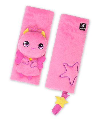 Pink Fairy Seat Belt Pad Set