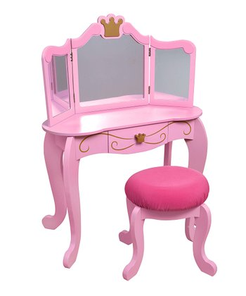 Princess Vanity & Stool