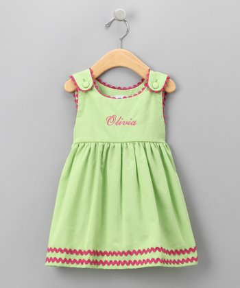 Green Personalized Jumper - Infant, Toddler & Girls