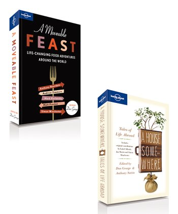 A Moveable Feast & A House Somewhere Paperbacks