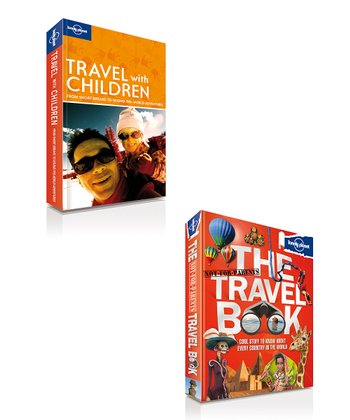 The Travel Book Hardcover & Travel with Children 5 Paperbacks