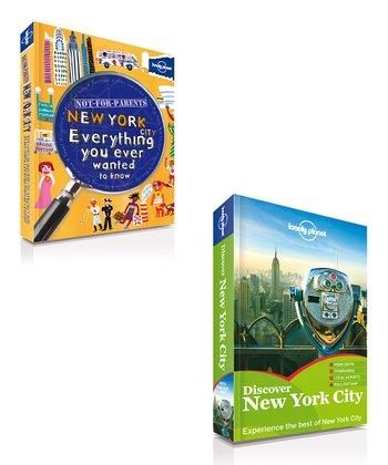 Not for Parents New York & Discover New York City Paperbacks