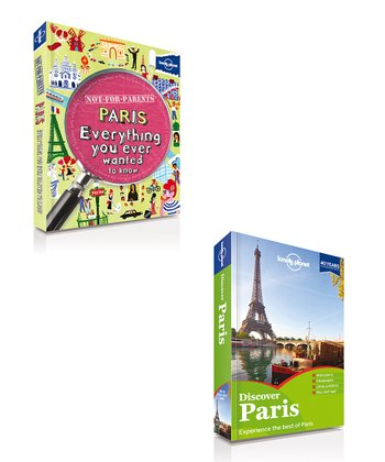 Not For Parents Paris & Discover Paris Paperbacks