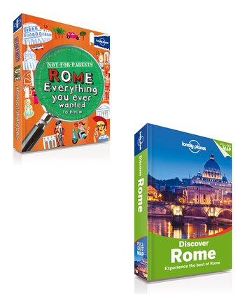 Not For Parents Rome & Discover Rome Paperbacks