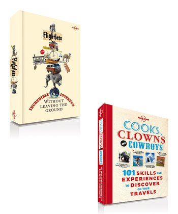 Cooks, Clowns and Cowboys & Flightless Paperbacks