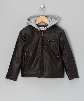 Brown Maverick Jacket - Infant, Toddler & Boys