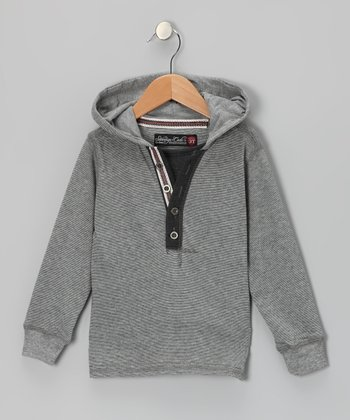 Gray Wesley Hoodie - Infant & Toddler