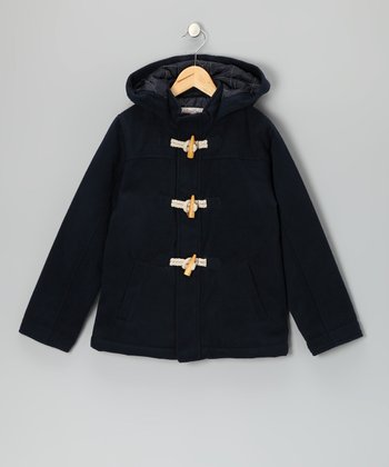Navy Landon Jacket - Boys