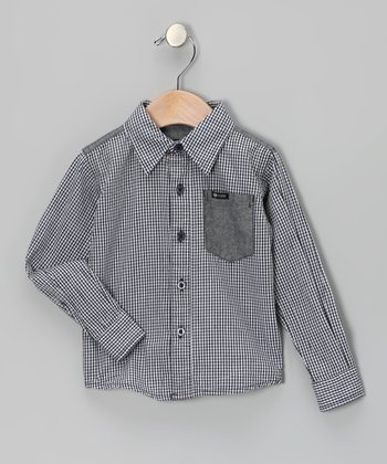 Check Chambray District Button-Up - Infant