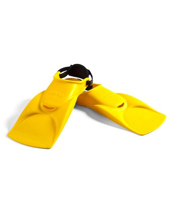 Yellow Kid Finz Swim Flippers