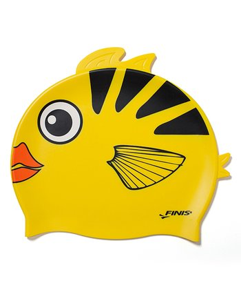 Animal Heads Angel Fish Swim Cap
