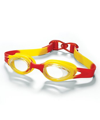Red & Yellow Jelly Goggles