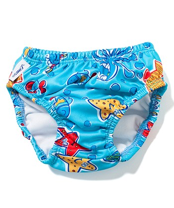 Blue Octopus Swim Diaper