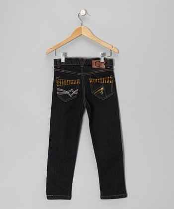 Dark Denim Skinny Jeans - Toddler & Girls