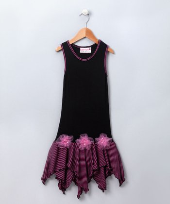 Licorice & Taffy Stripes Dress - Toddler & Girls