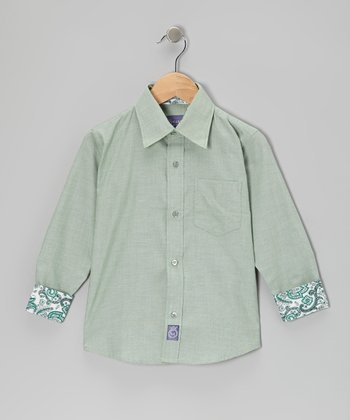 Sage Button-Up - Toddler & Boys