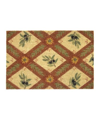 Natural & Rust Umbria Doormat