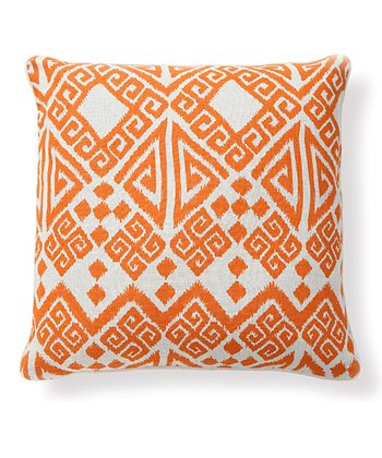 Orange Tangier Pillow