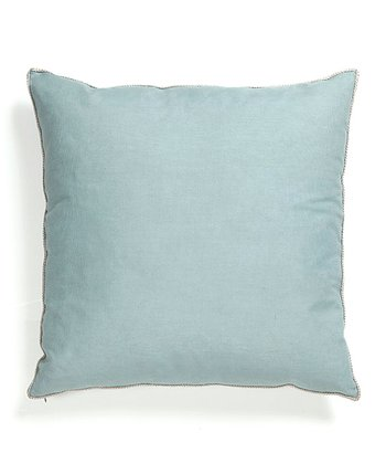 Aqua Basic Elements Throw Pillow