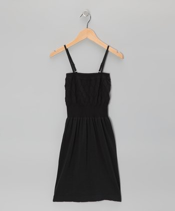 Black Diamond Dress - Girls