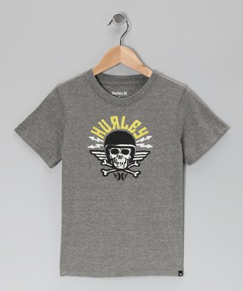 Charcoal Death From Above Tee - Boys