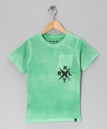 Kelly Green Get Down Tee - Infant & Toddler