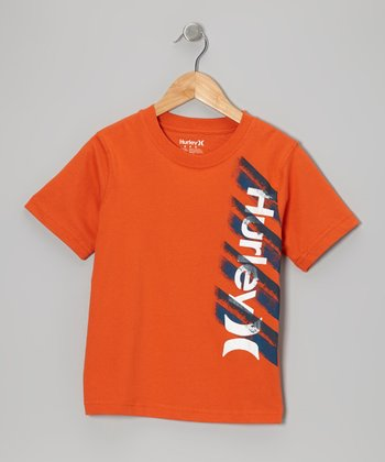 Blaze Orange Beware Tee - Boys