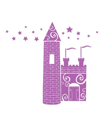 Lavender Castle Wall Decal