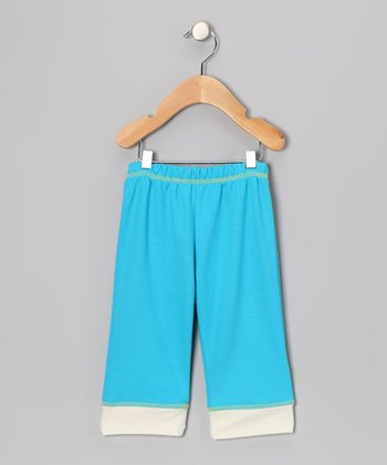 Blue Yoga Pants - Infant