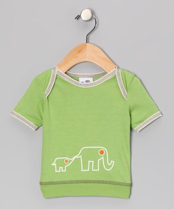 Green Elephant Tee - Infant