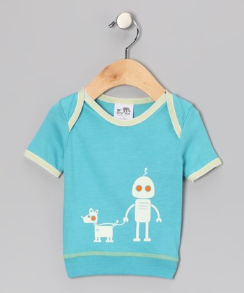 Blue Robot Tee - Infant