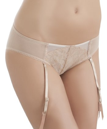 Toast Lace Retro Chic Garter Belt - Women