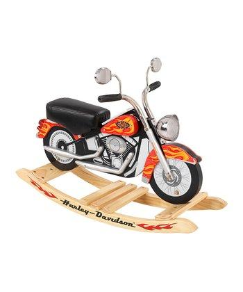 Orange Harley-Davidson® Roaring Rocker