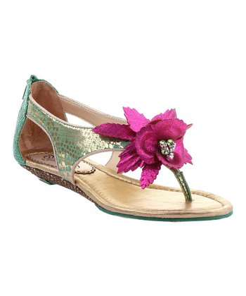 Green Island Surprise Sandal