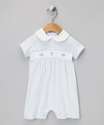 Blue Fish Romper - Infant