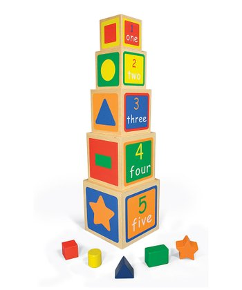 Wooden Nesting Blocks & Shape Sorter
