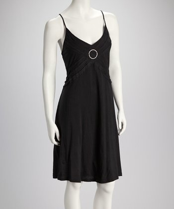 Black Ring Detail Dress