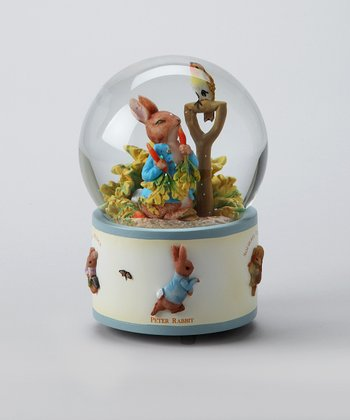 Peter Rabbit Water Globe