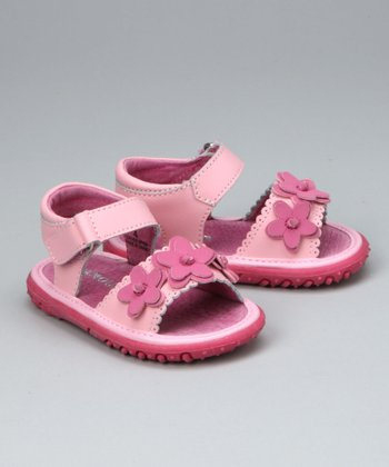 Pink Flexi-Sole Sandal - Infant, Toddler & Girls