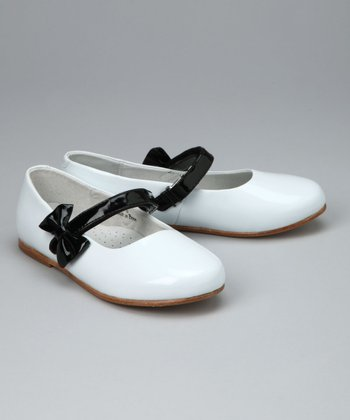White Patent Mary Jane - Toddler & Girls