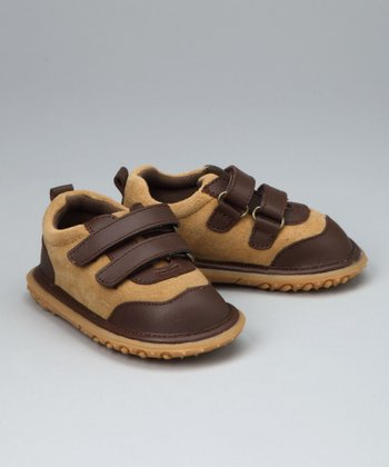 Tan Double-Strap Sneaker - Infant, Toddler & Boys