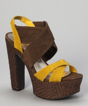 Sunflower Suede Artifact Sandal