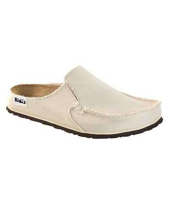 Cream Textile Classic Skipper Mule - Women & Men
