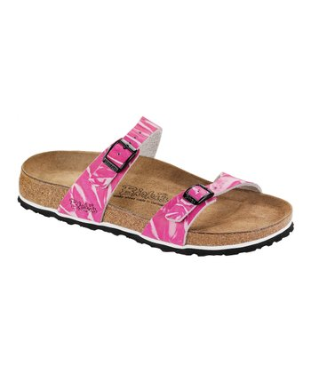 Pink 3D Tahiti Slide - Women