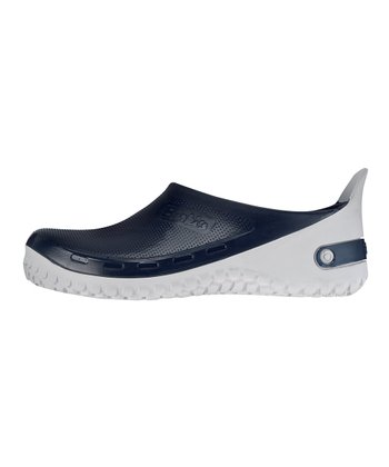 Navy Active Birki Slip-On Shoe - Women & Men