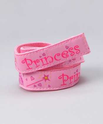 Myself Belts Pink 'Princess' Belt